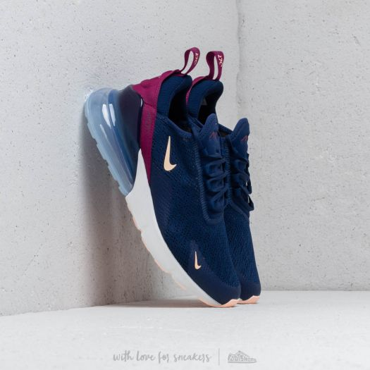 quality design 04feb 095ab Nike W Air Max 270 Blue Void  Crimson Tint-True Berry