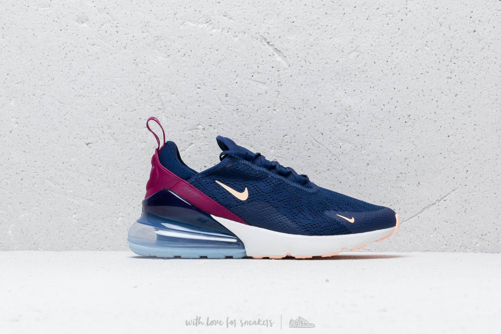 b4a3585782 Nike W Air Max 270 Blue Void/ Crimson Tint-True Berry at a great