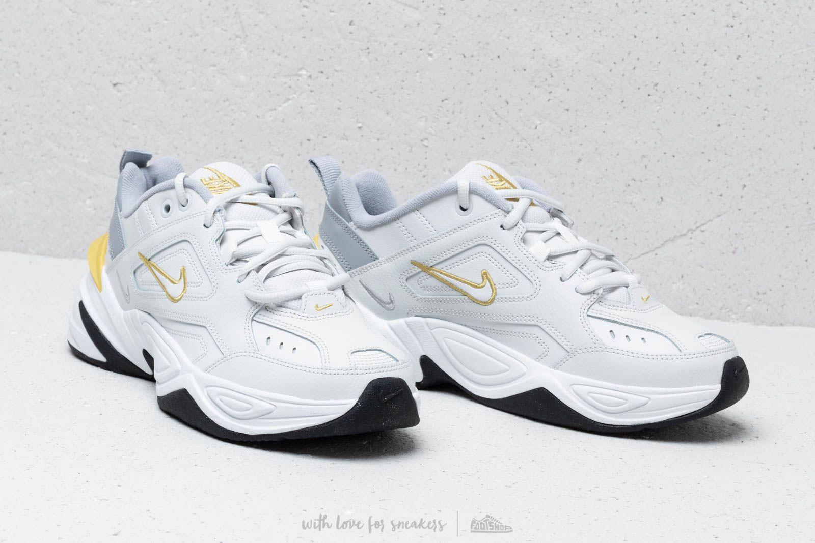 Suelto Puno construcción naval  Women's shoes Nike W M2K Tekno Platinum Tint/ Celery-Wolf Grey | Footshop