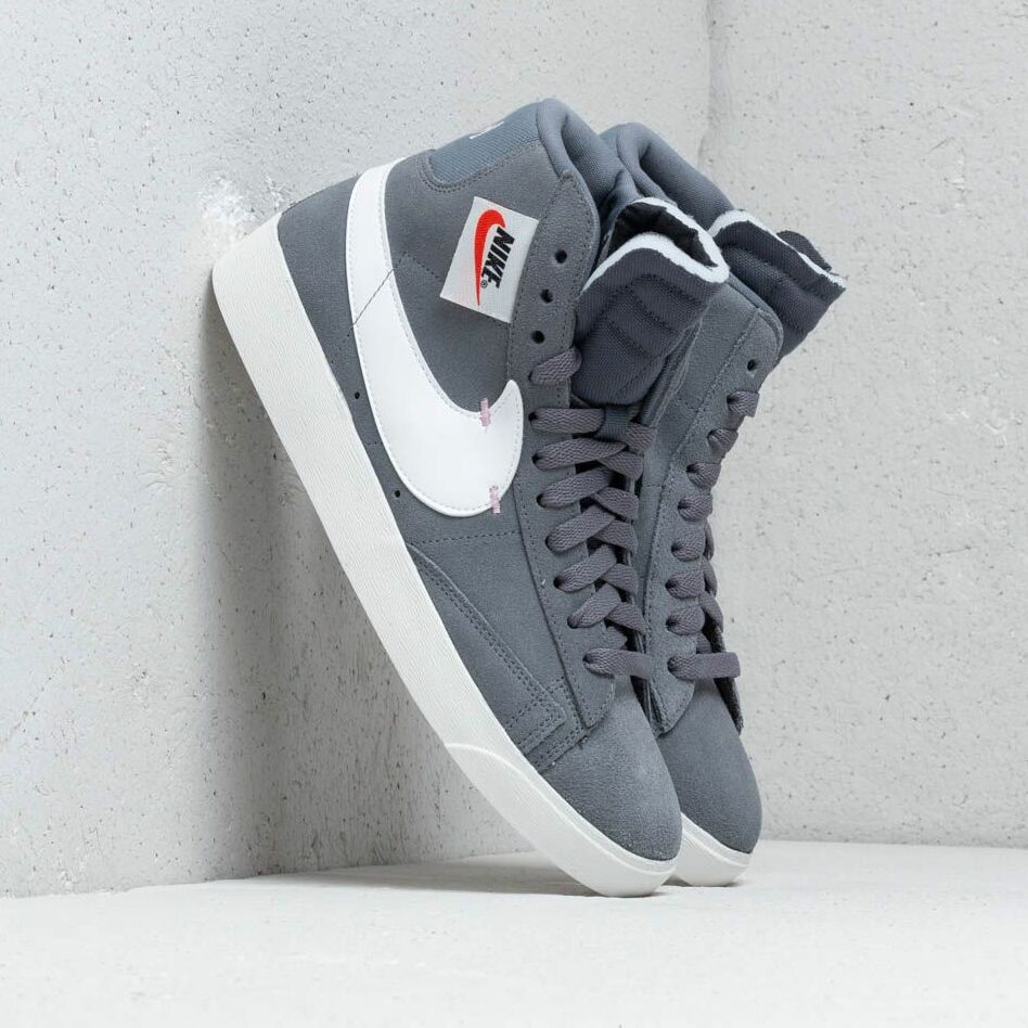 Nike Blazer Mid Rebel Wmns Cool Grey/ Summit White-Dark Grey