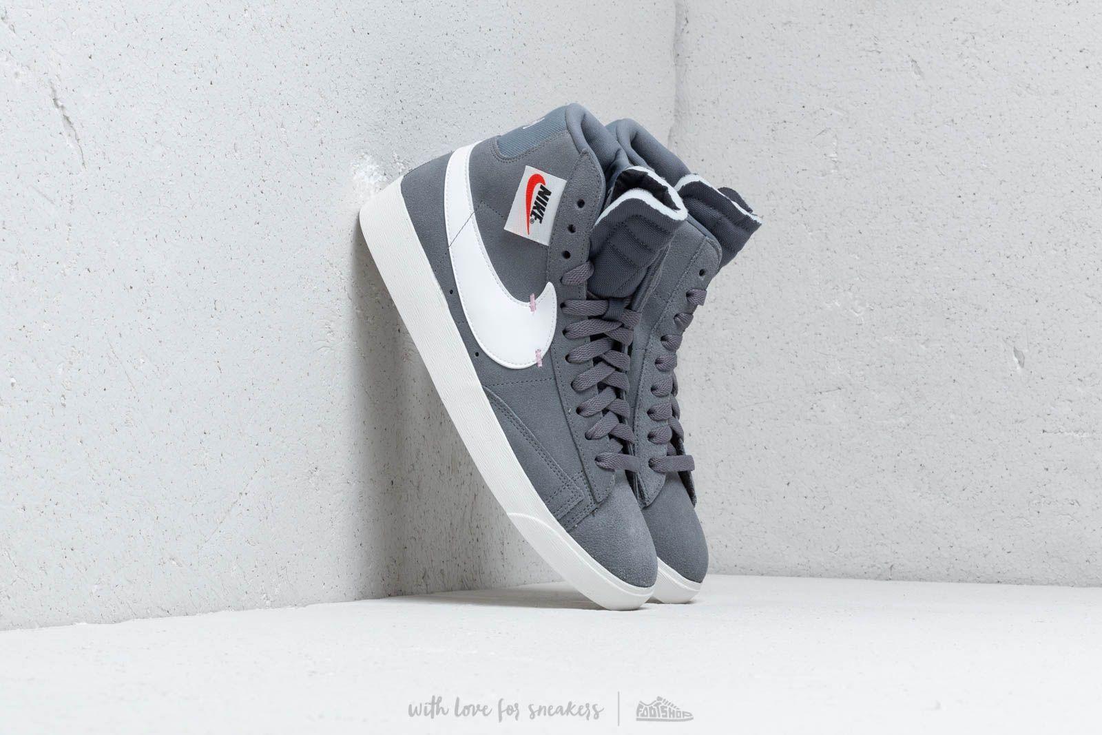 Nike Blazer Mid Rebel Wmns Cool Grey/ Summit White-Dark Grey at a great price 103 € buy at Footshop