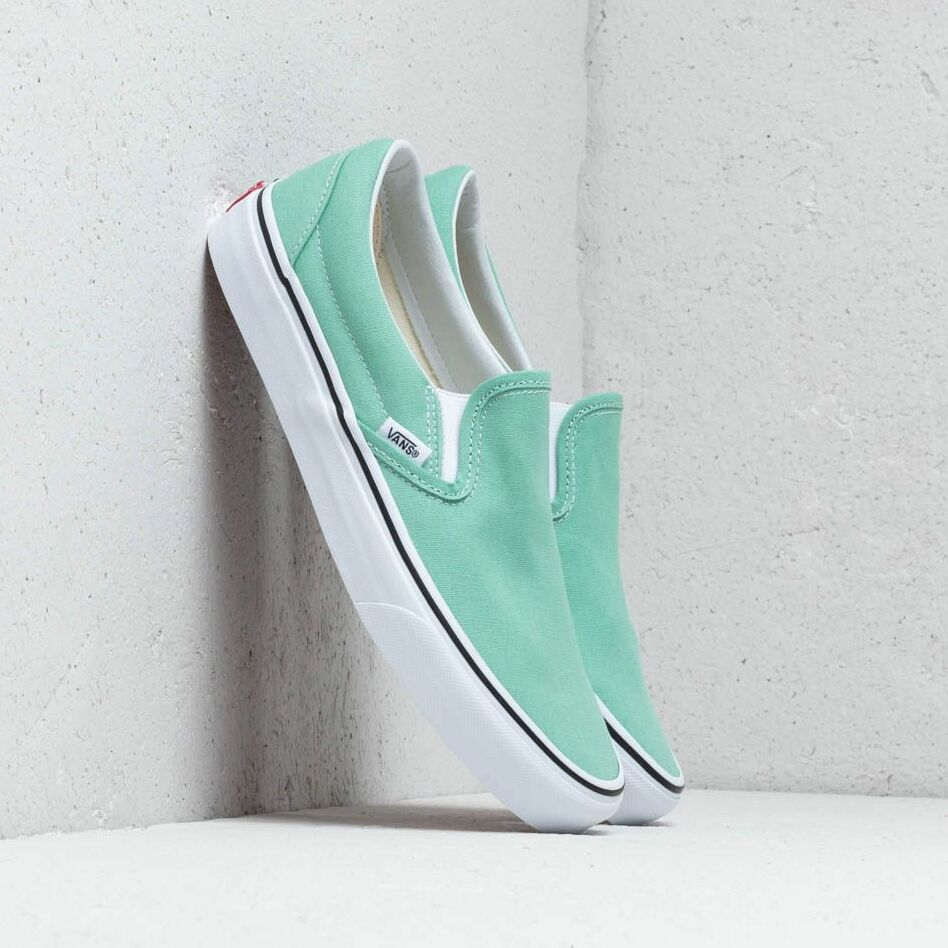Vans Classic Slip-On Neptune Green/ True White EUR 38