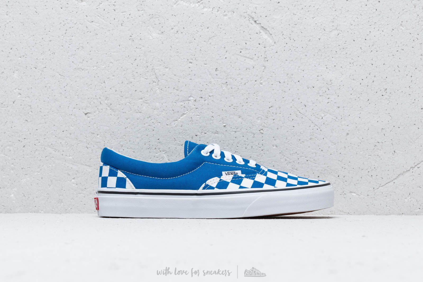 Vans ERA (Checkerboard) Lapis Blue | Footshop