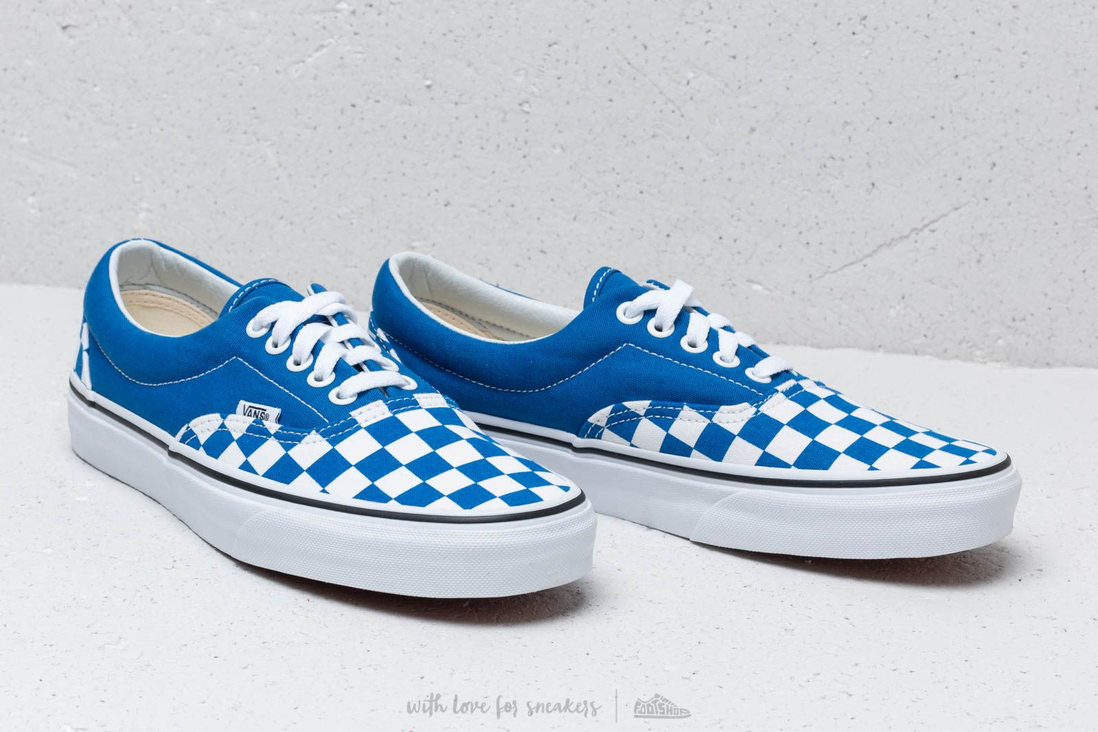 Vans ERA (Checkerboard) Lapis Blue | Footshop