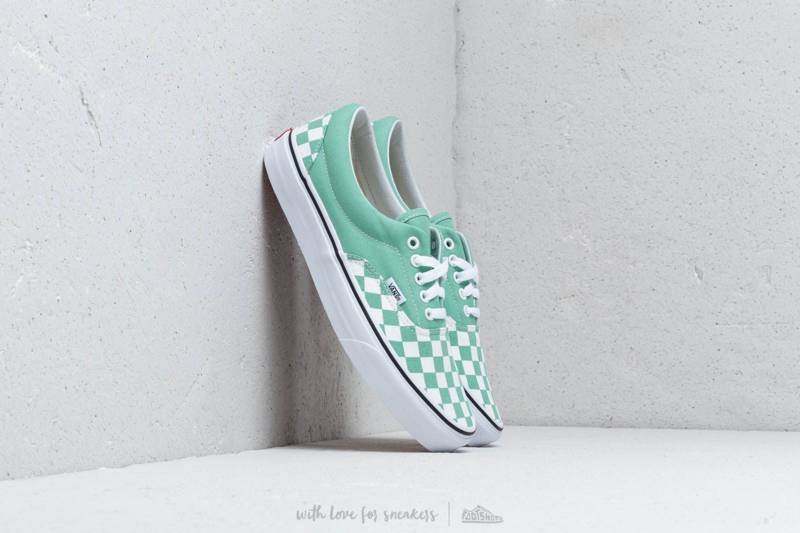 Vans Era (Checkerboard) Neptune Green au meilleur prix 76 € Achetez sur Footshop