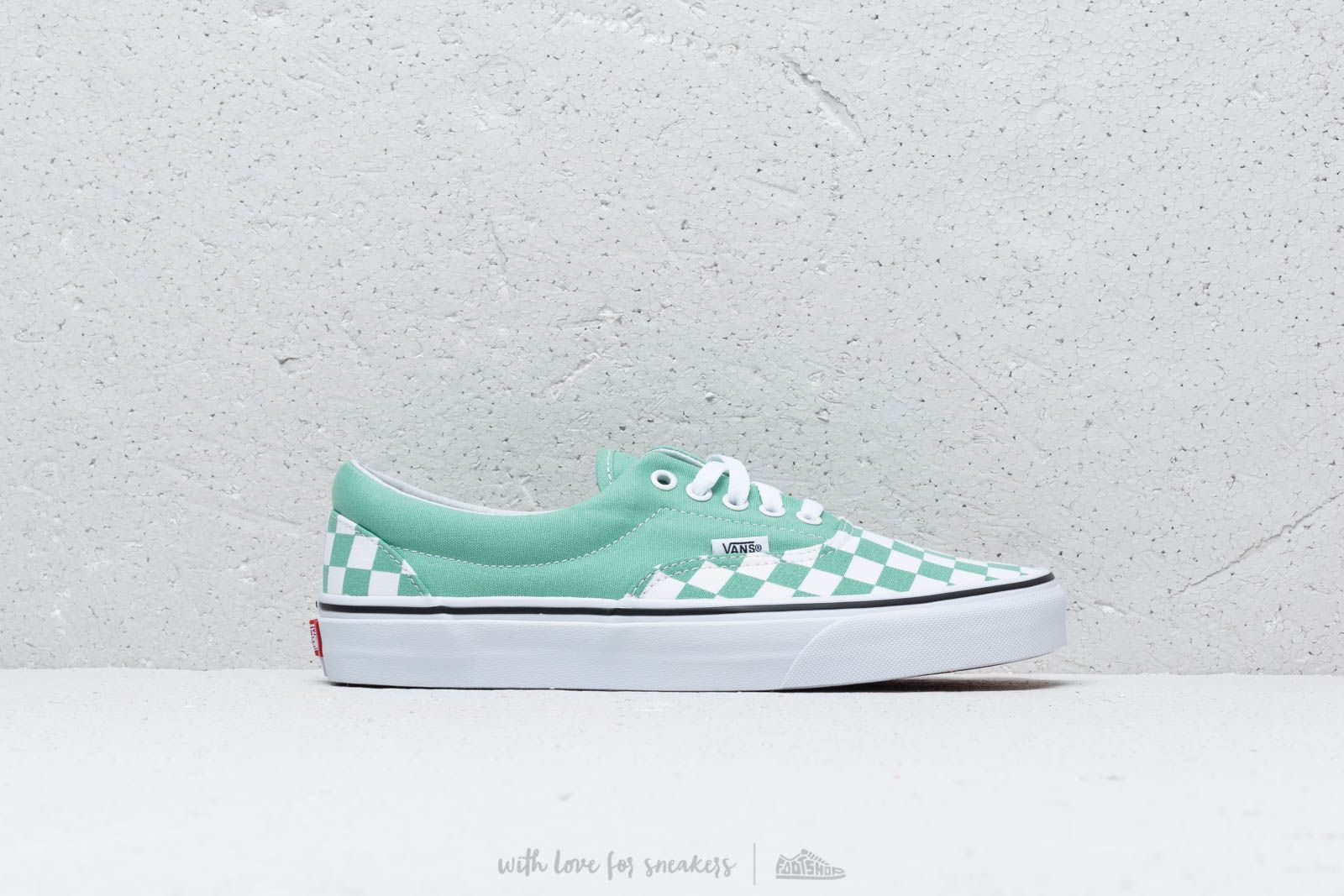 Vans Era (Checkerboard) Neptune Green at a great price 62 € buy at Footshop 2497f7f2a