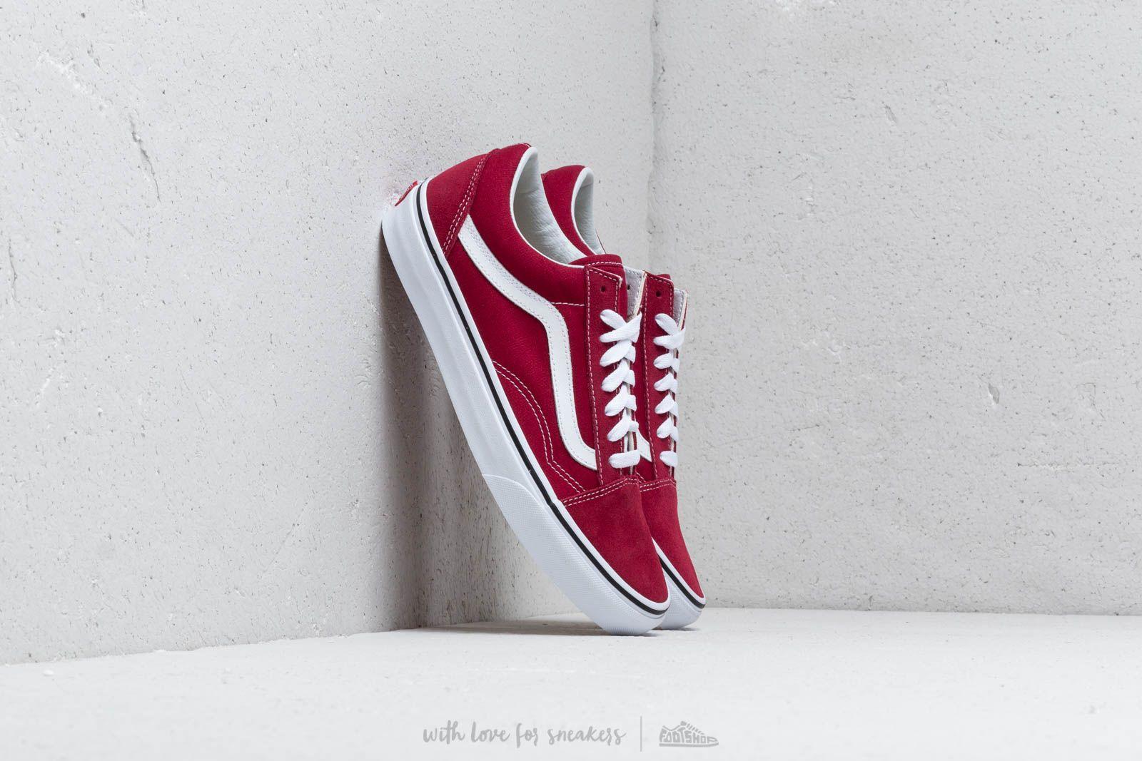 Men's shoes Vans Old Skool Rumba Red