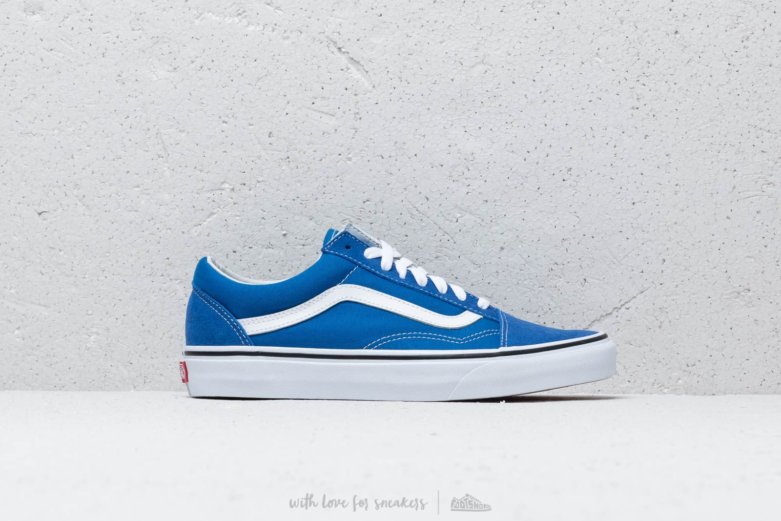 8d91a582260 Vans Old Skool Lapis Blue  True White at a great price £57 buy at