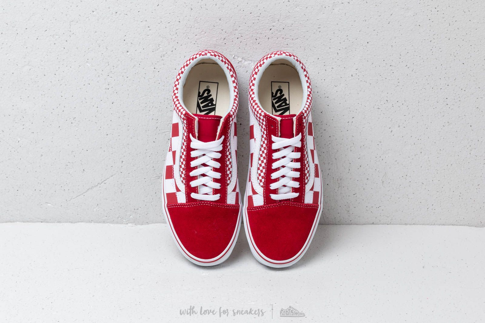 Vans Old Skool (Mix Checker) Chili Pepper | Footshop