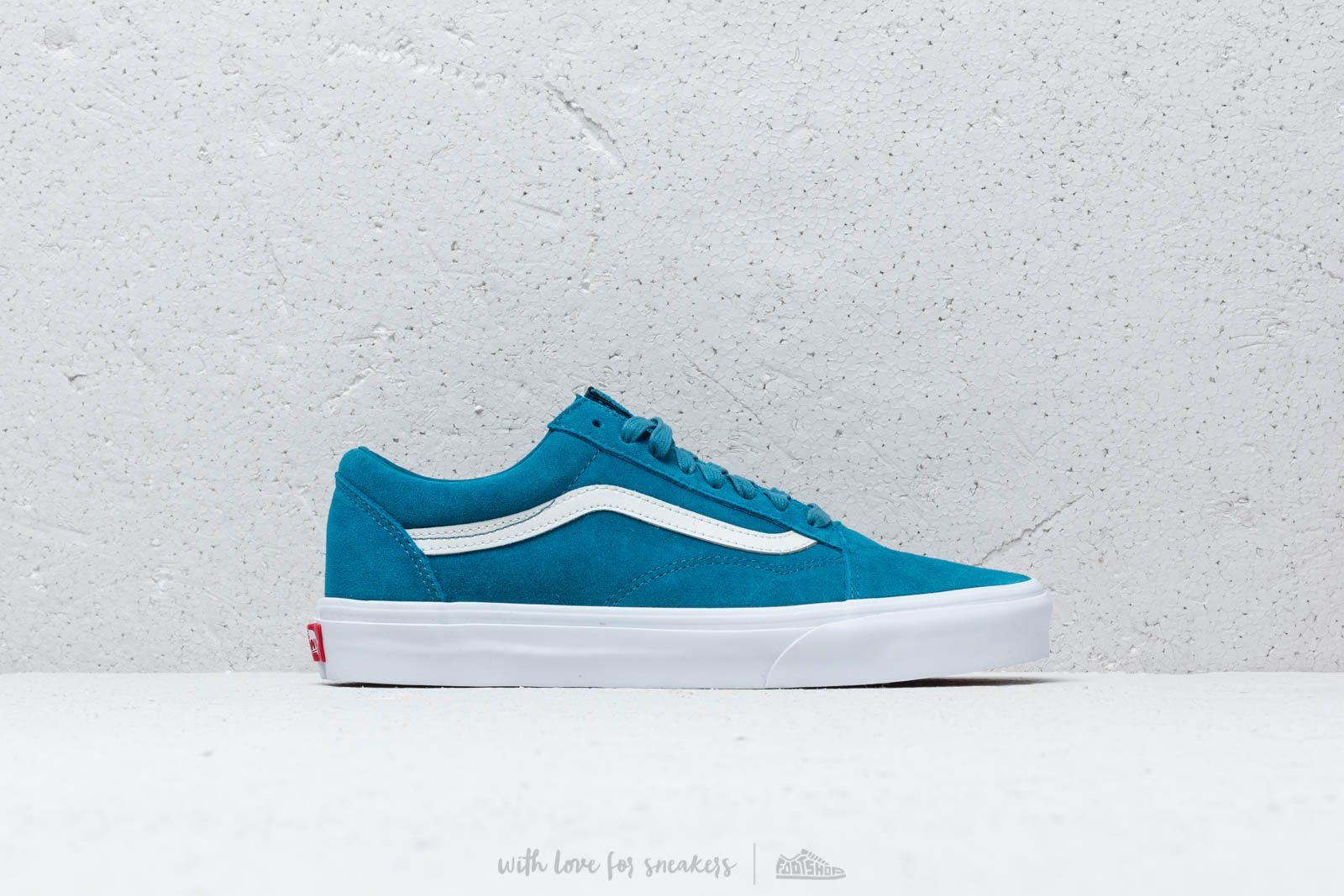 Vans Old Skool (Soft Suede) Blue Sapphire | Footshop
