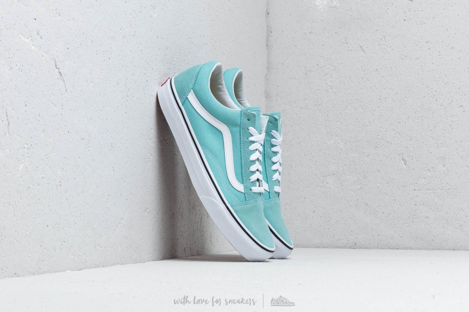 Vans Old Skool Aqua Haze/ True White at a great price 135 лв купете в Footshop