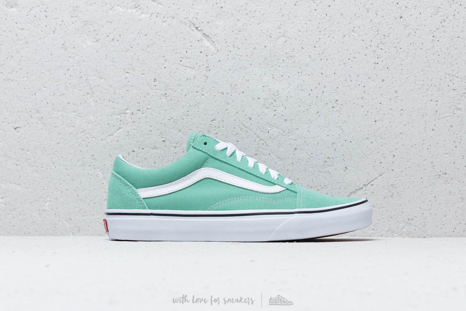 Vans Old Skool Neptune Green True White | Footshop
