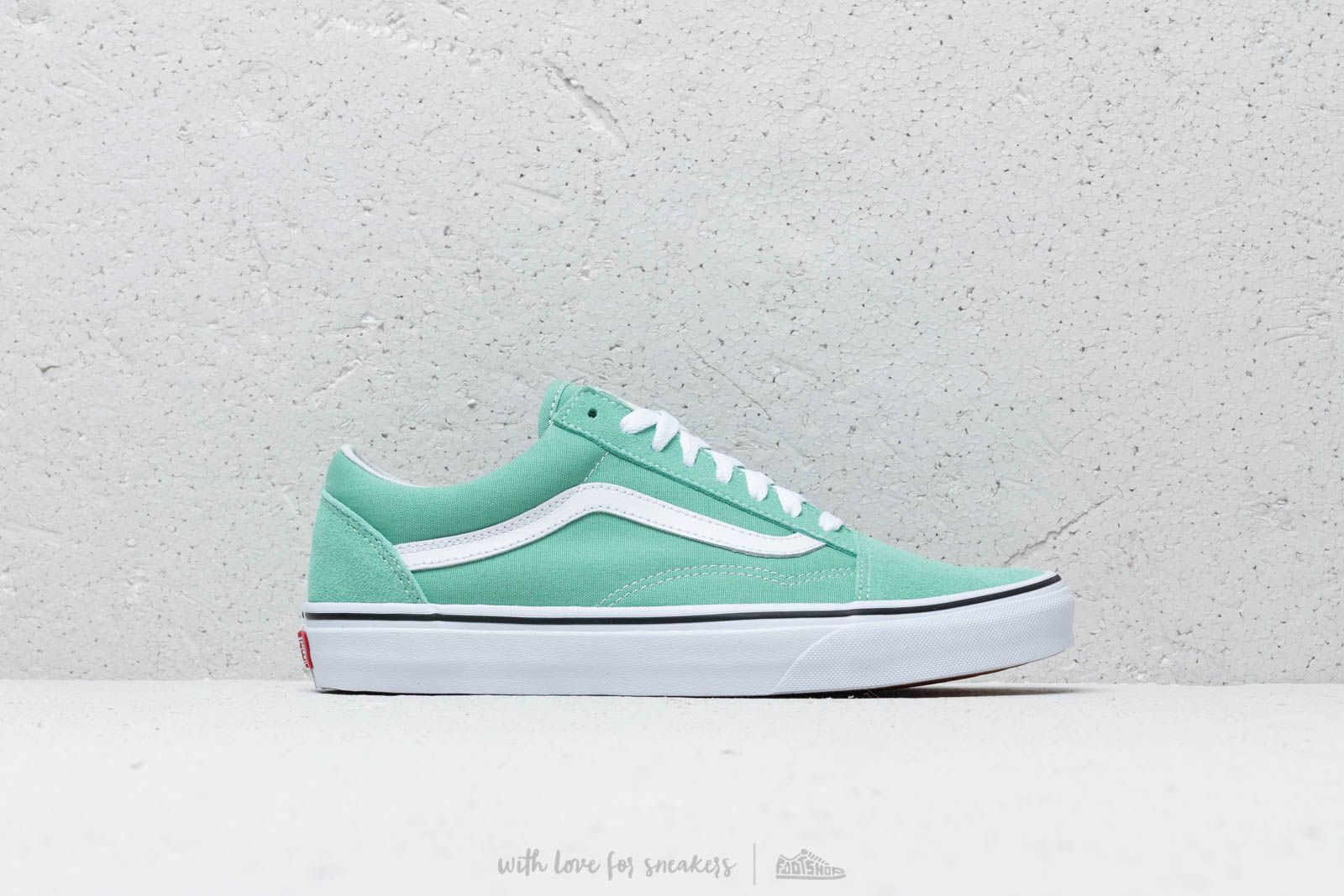 86856c75ff84 Vans Old Skool Neptune Green  True White at a great price £57 buy at