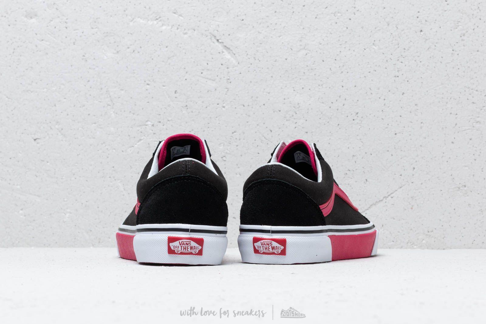 Vans Old Skool (Color Block) Black Jazzy   Footshop