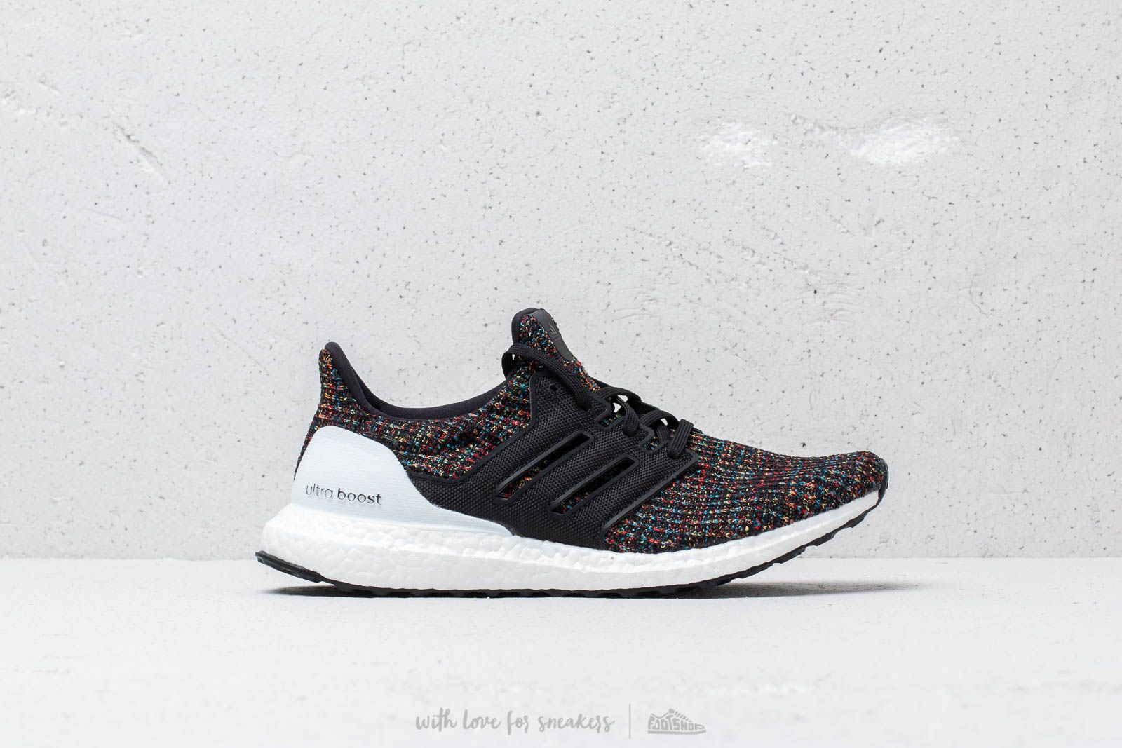 f56fbb95b adidas UltraBoost Core Black/ Core Black/ Multi at a great price £153 buy