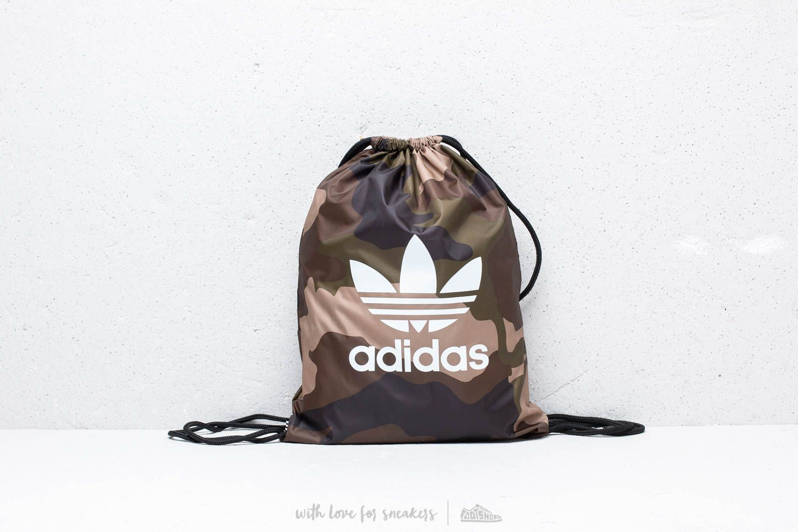 bebd162360 adidas Camouflage Gymsack Camo at a great price £16 buy at Footshop