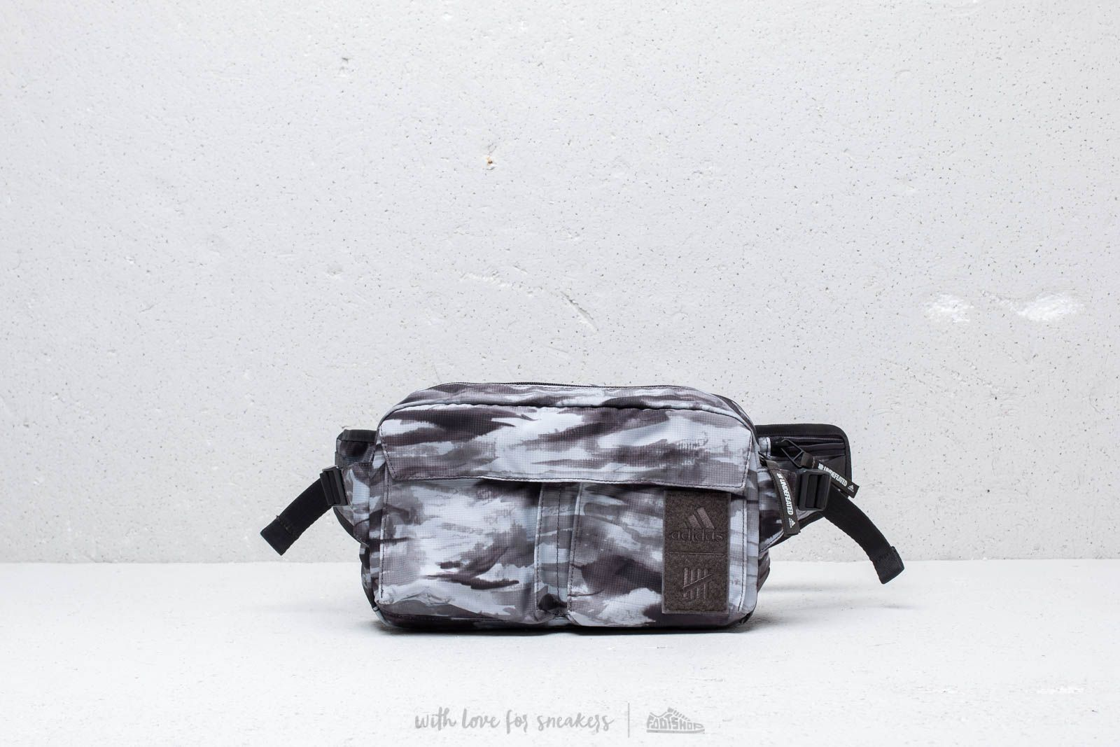 c132d17c6b25 adidas x Undefeated Belt Bag Multicolor at a great price 67 € buy at  Footshop