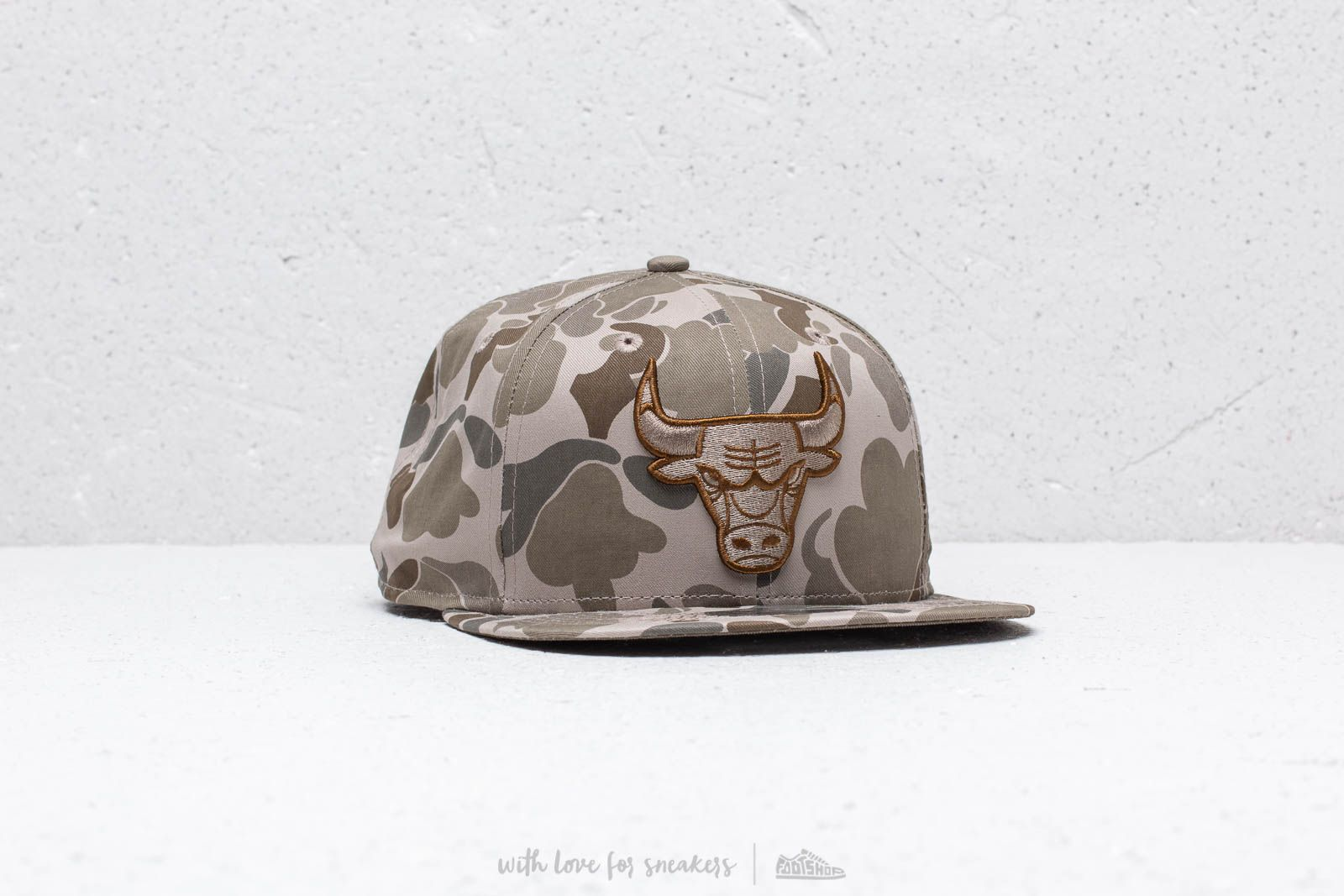 New Era 9Fifty Chicago Bulls Cap Camo at a great price 37 € buy at Footshop