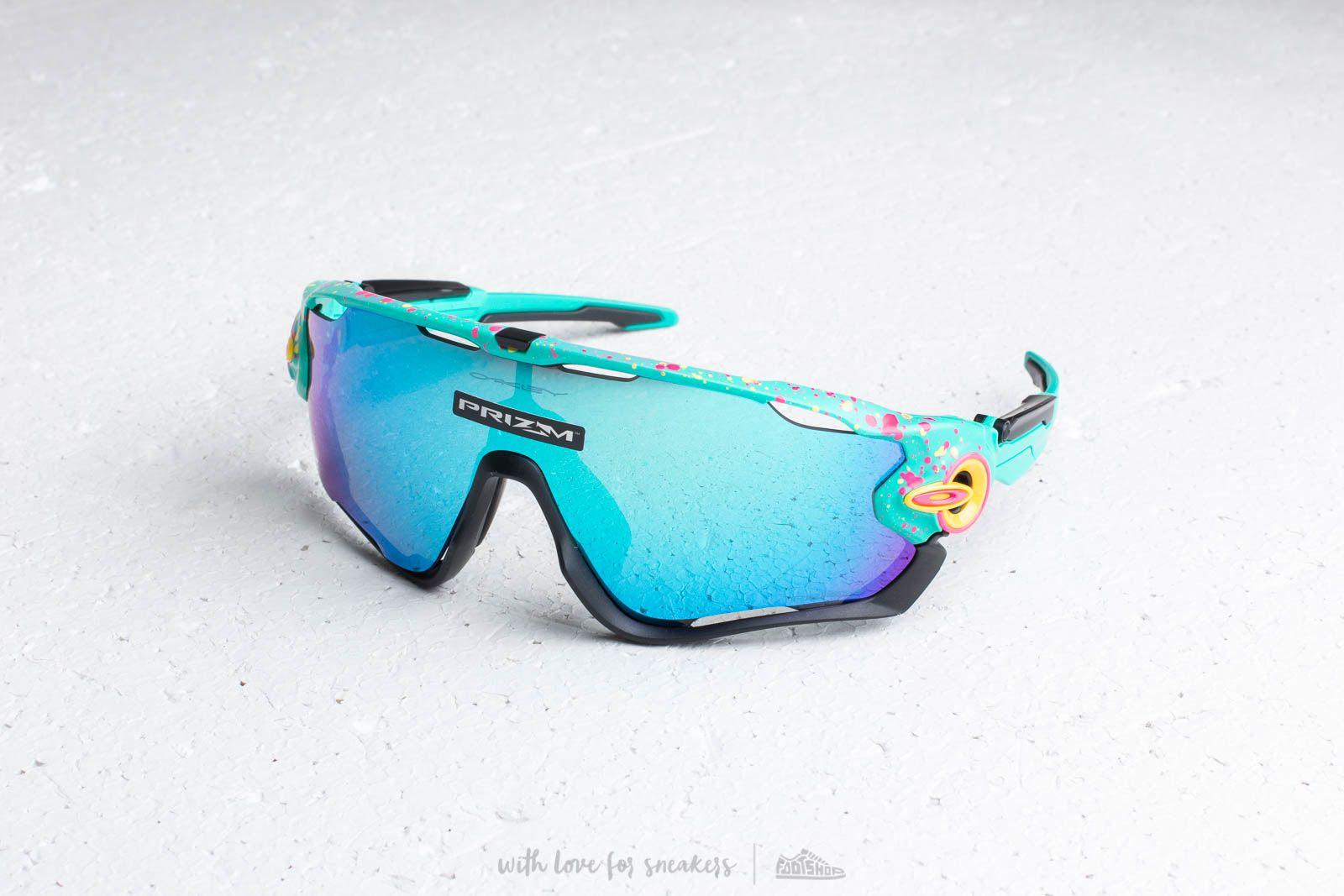 Oakley Jawbreaker Splatterfade Sunglasses Green at a great price 194 € buy  at Footshop 7ca419a7aab