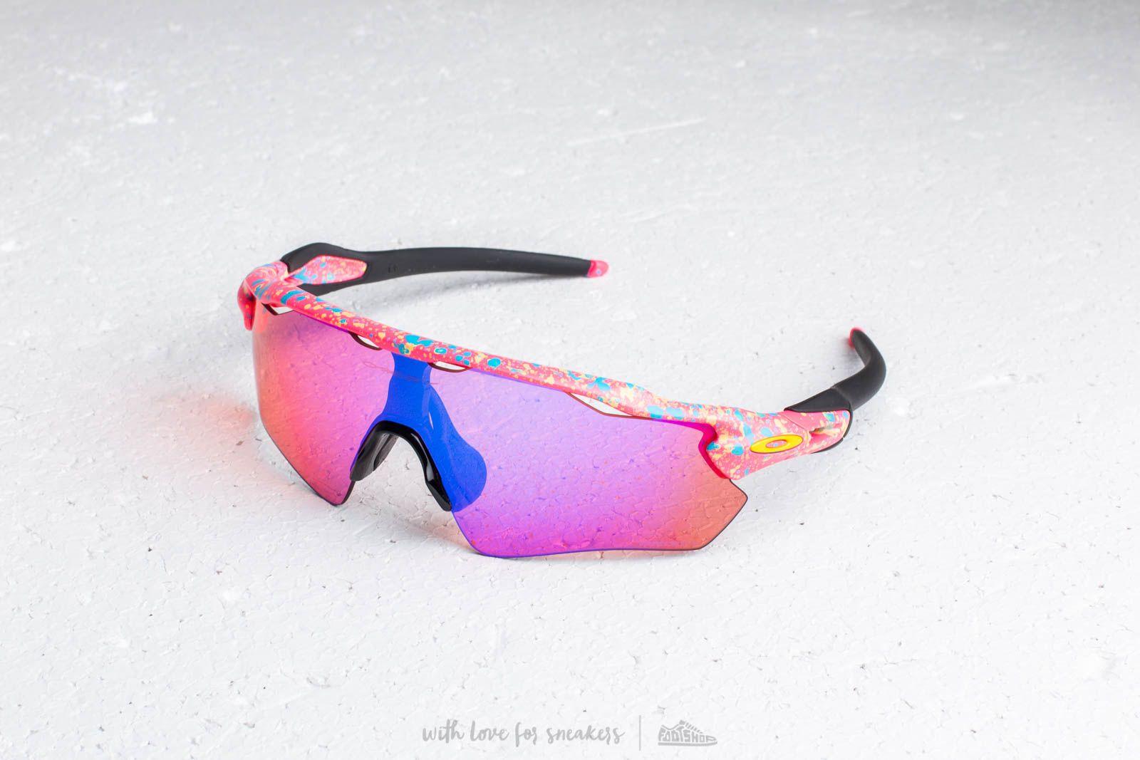 Oakley Radar Splatterfade Sunglasses Pink at a great price $206 buy at Footshop