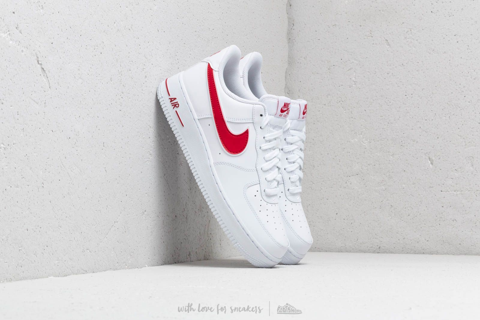 Nike Air Force 1 '07 3 White/ Gym Red