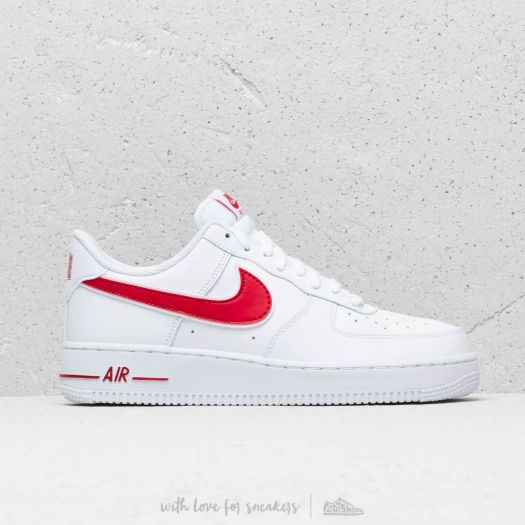 Scarpe e sneaker da uomo Nike Air Force 1 '07 3 White/ Gym Red ...