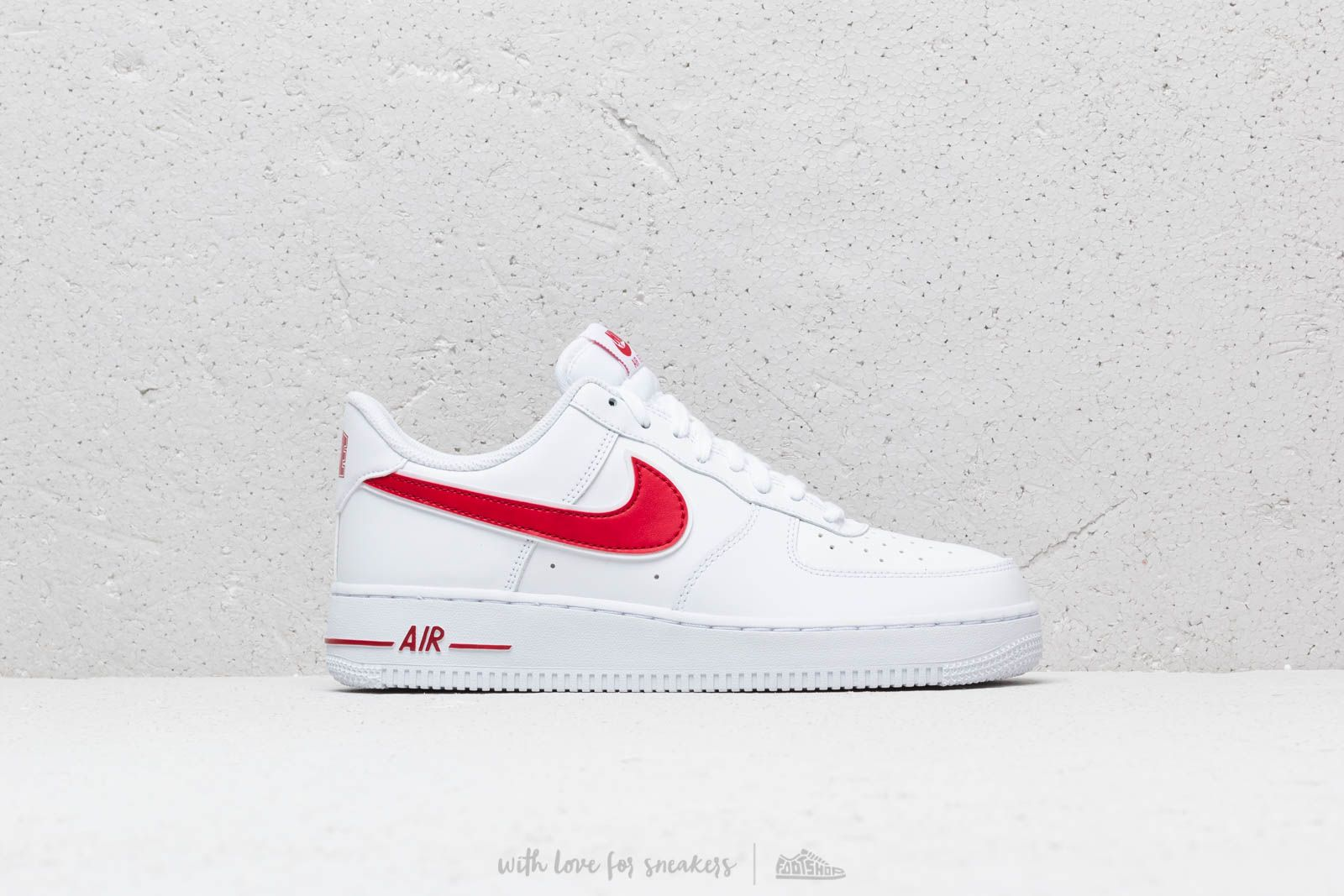 low priced 18f5e 0381d Nike Air Force 1  07 3 White  Gym Red at a great price 95