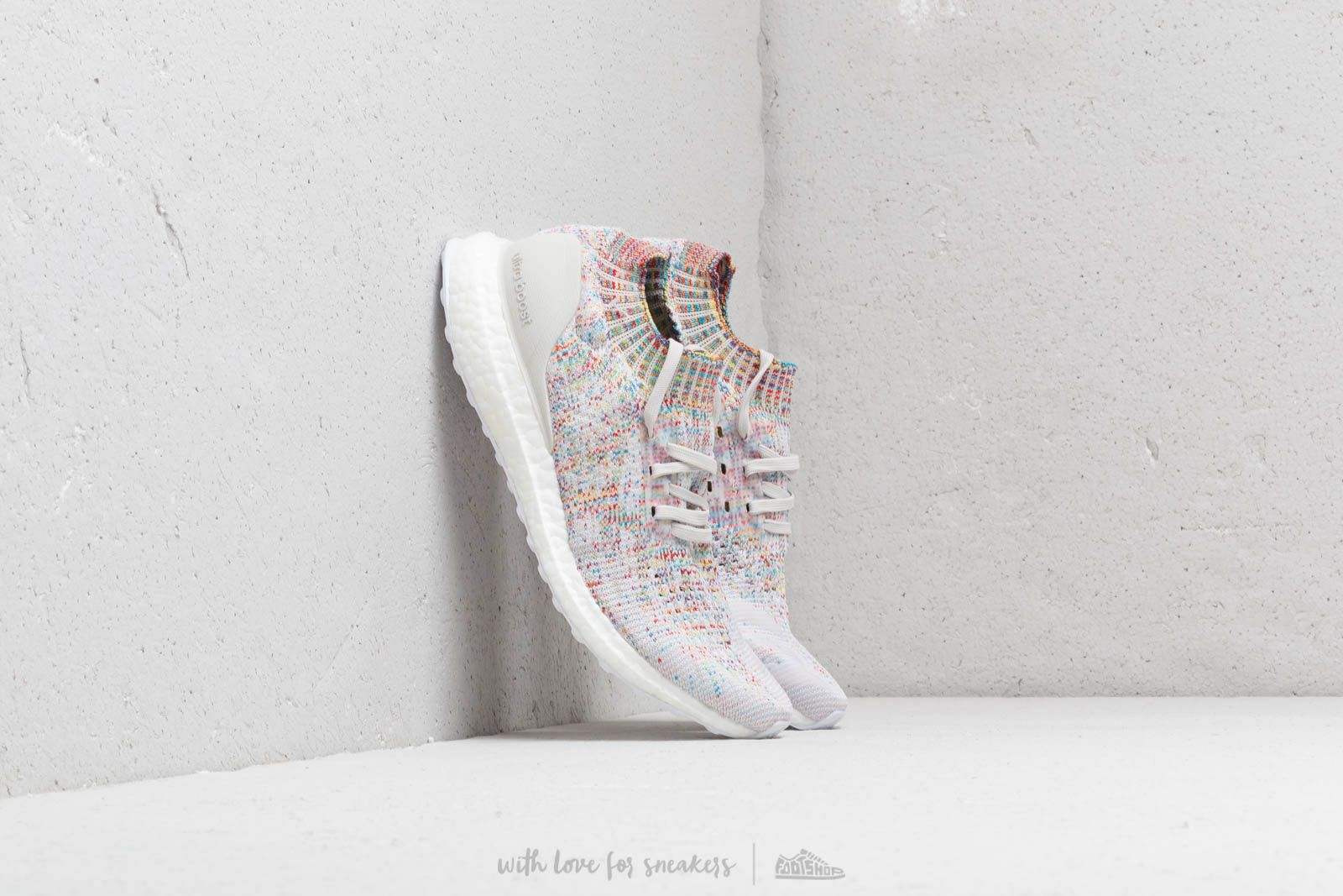 detailed look adc40 1bca1 adidas Ultraboost Uncaged Raw White/ Ftw White/ Shocya ...