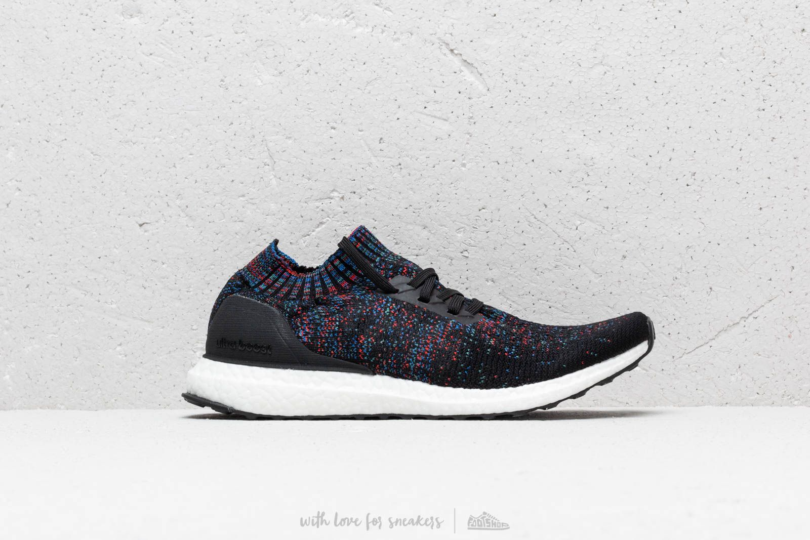 detailed look outlet boutique thoughts on adidas Ultraboost Uncaged Core Black/ Active Red/ Blue ...