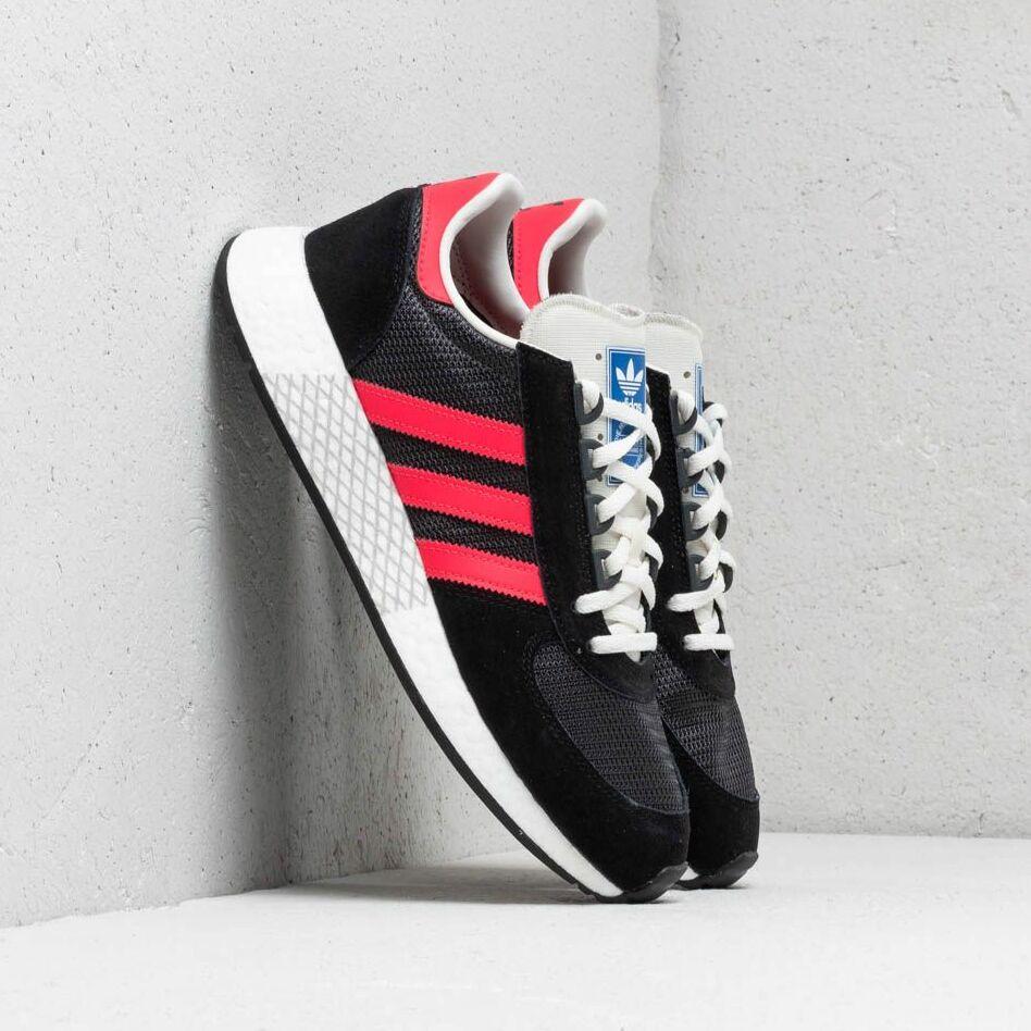 adidas Marathon Tech Carbon/ Shock Red/ Core Black
