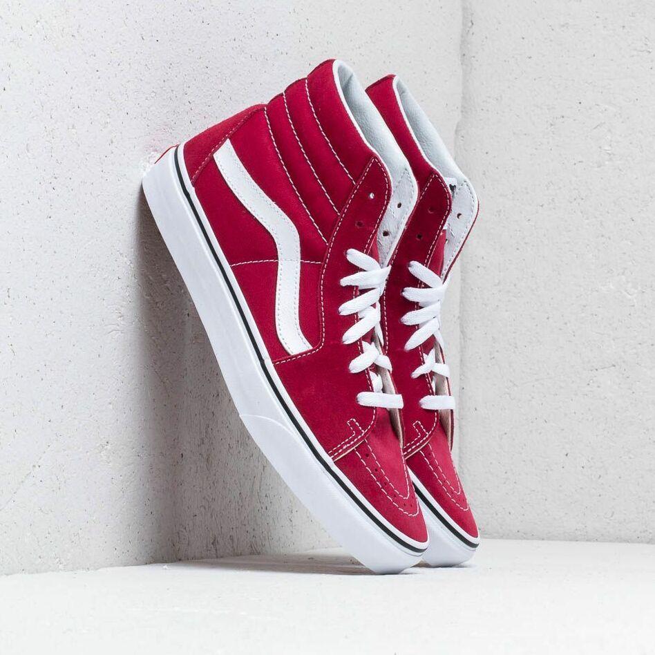 Vans Sk8-Hi Rumba Red/ True White EUR 46