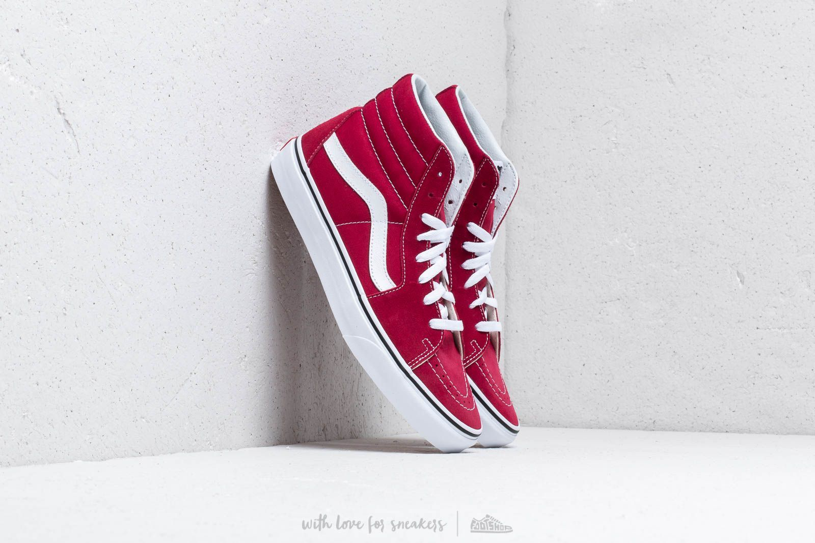 84d89af4df3 Vans Sk8-Hi Rumba Red  True White at a great price 73 € buy