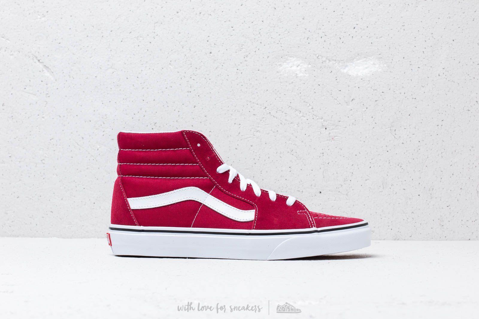 826b7768ab Vans Sk8-Hi Rumba Red  True White at a great price 90 € buy