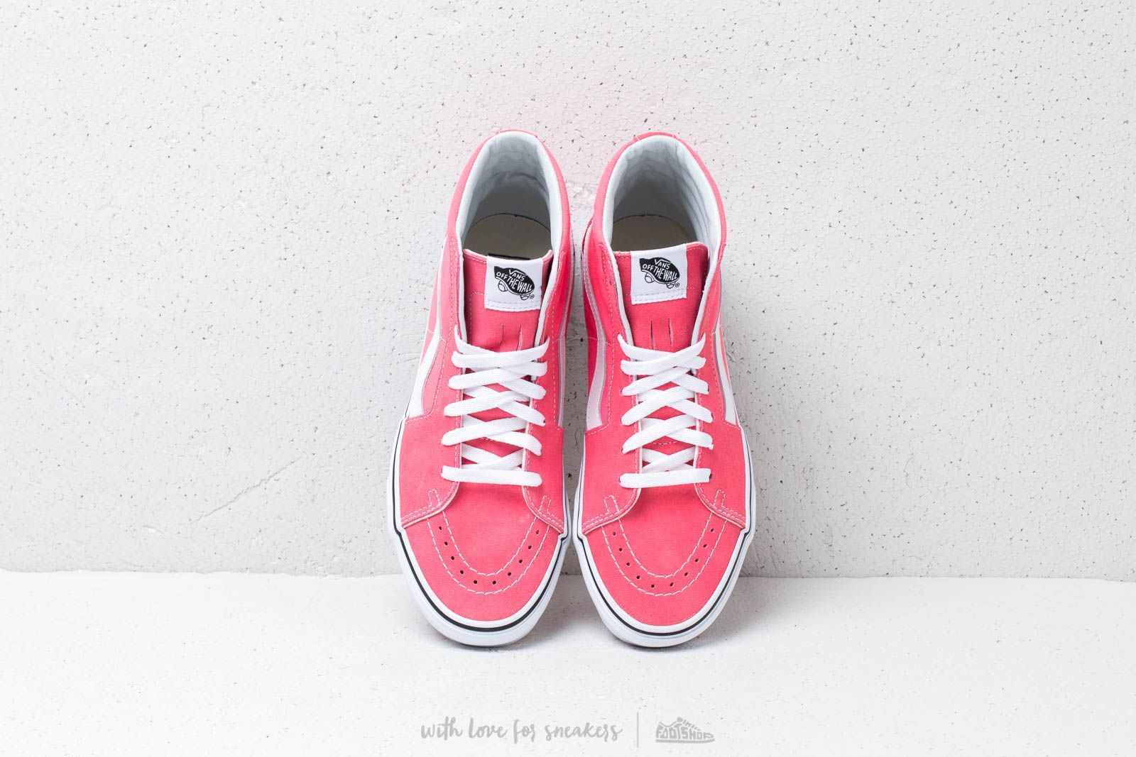 b7feb289d14 Vans Sk8-Hi Strawberry Pink  True White at a great price 73 € buy