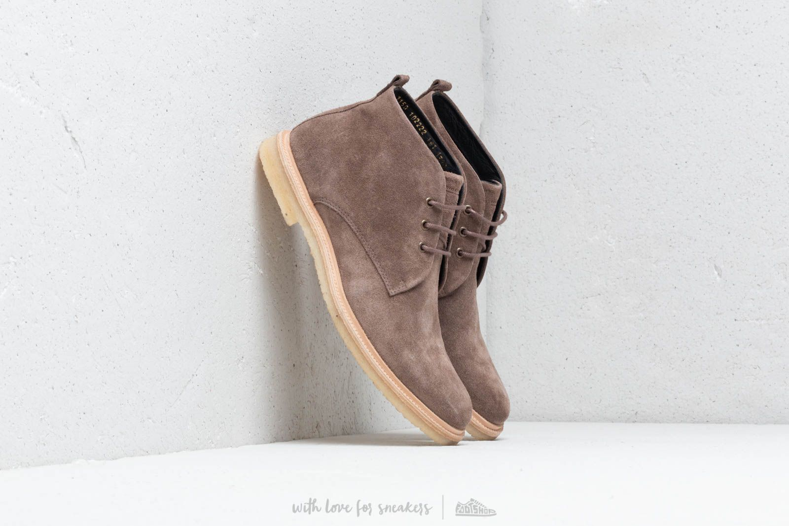 Royal Republiq Cast Crepe Midcut Suede Taupe at a great price 109 € bestell bei Footshop