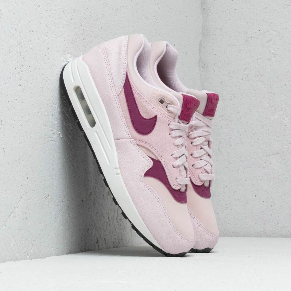 Nike Wmns Air Max 1 Prm Barely Rose/ True Berry-Summit White EUR 36.5