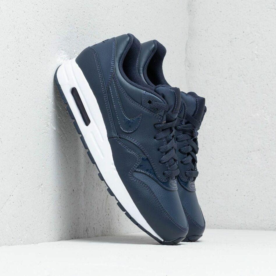 Nike Air Max 1 (GS) Obsidian/ Obsidian-White EUR 38