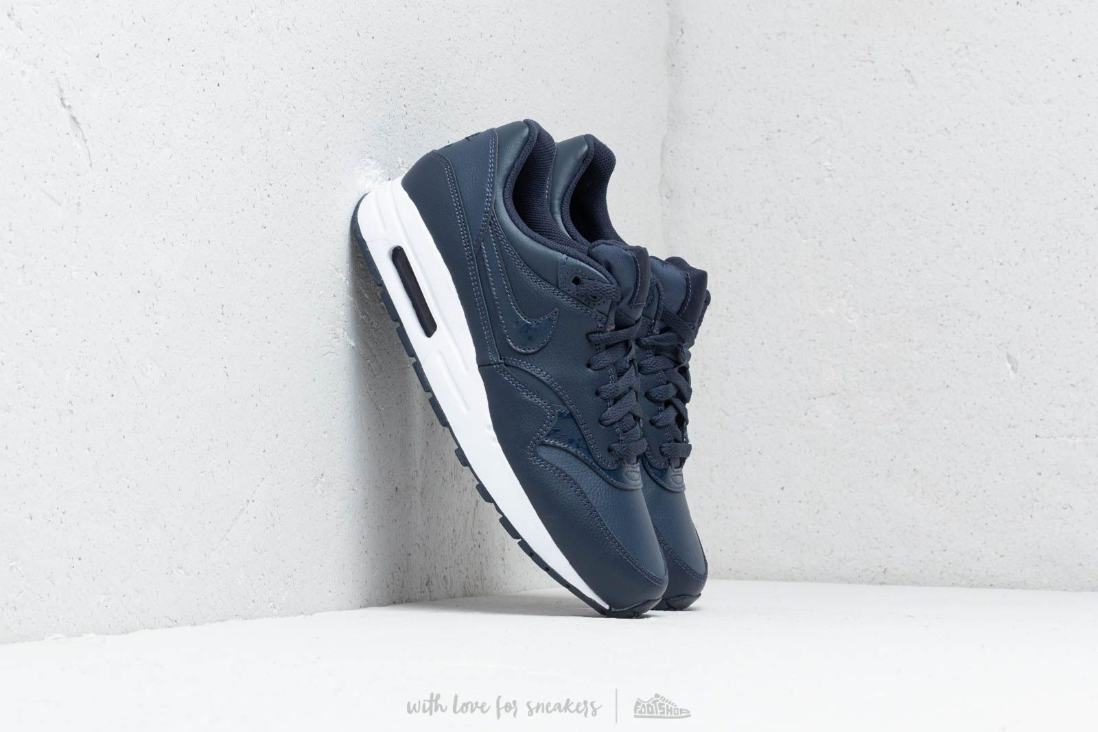 best website a4fe8 b5580 Nike Air Max 1 (GS) Obsidian  Obsidian-White at a great price