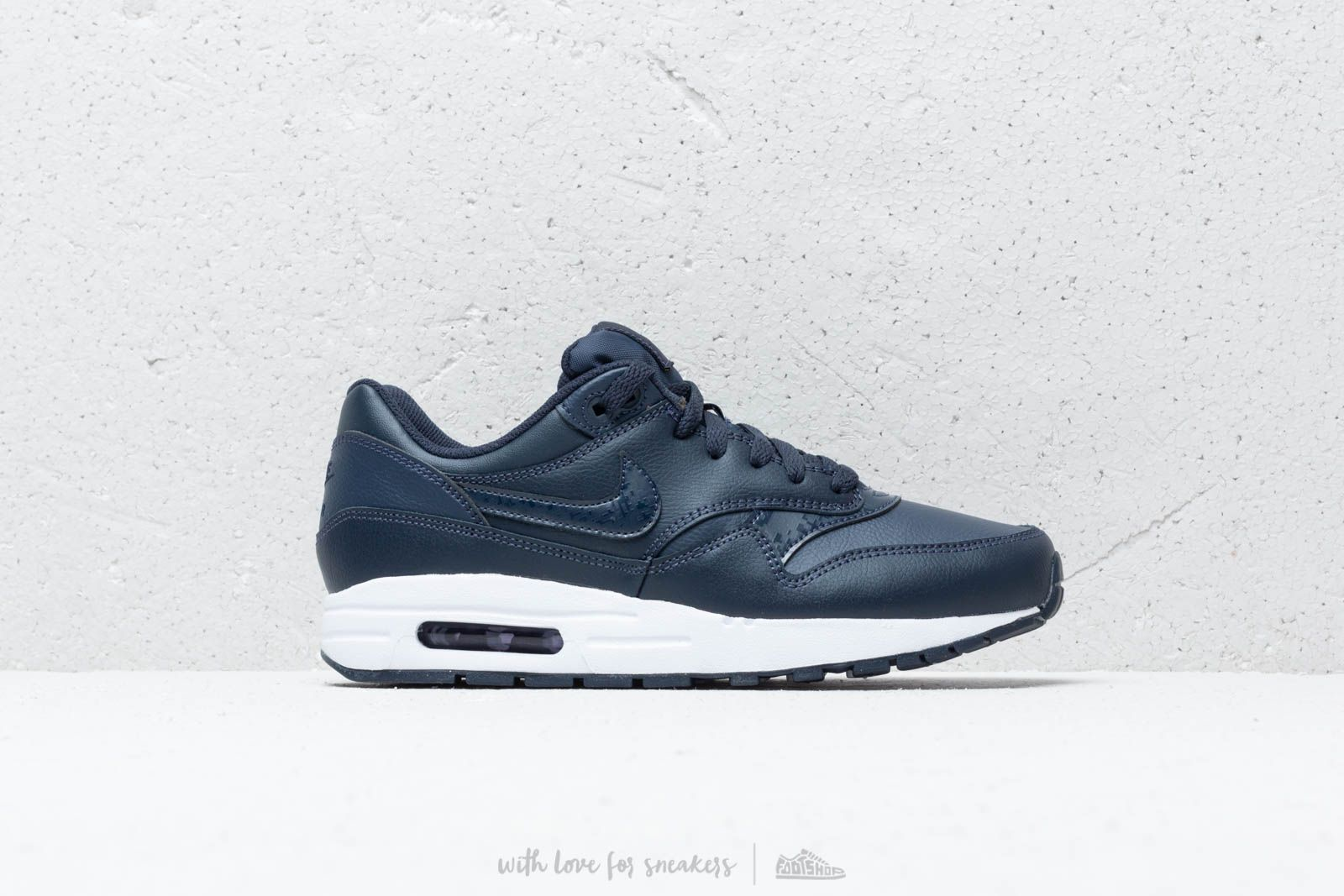 best website a014b 53ac2 Nike Air Max 1 (GS) Obsidian  Obsidian-White at a great price
