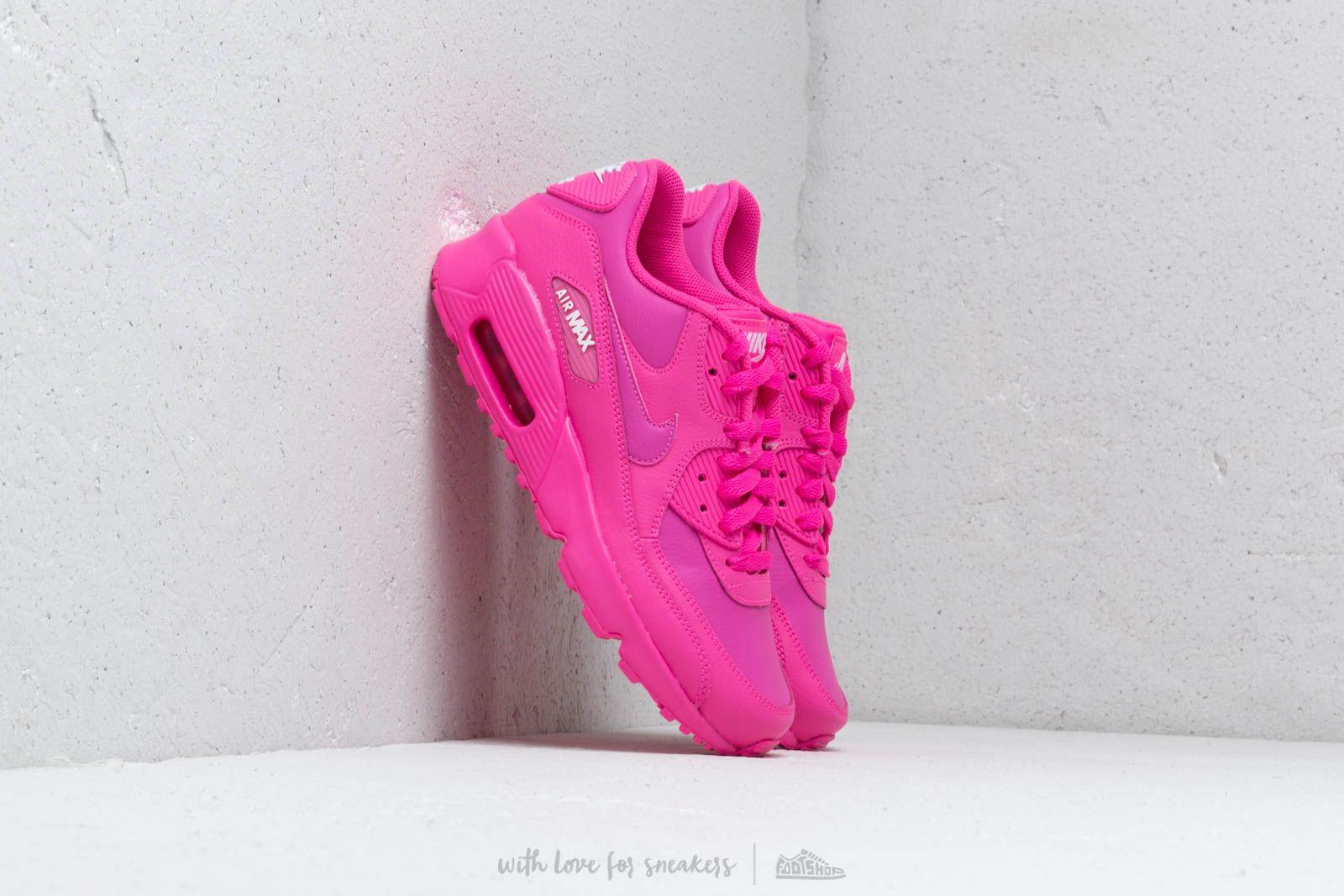 0d211725827 Nike Air Max 90 Ltr (GS) Laser Fuchsia/ Laser Fuchsia-White | Footshop