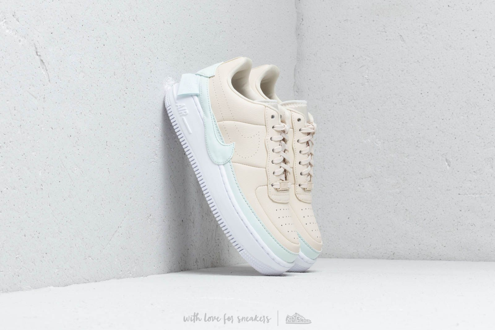 Nike W Af1 Jester Xx Light Cream/ Ghost Aqua-White