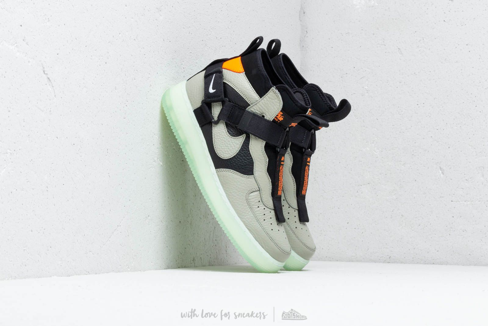 the latest 90da5 283b4 Nike Air Force 1 Utility Mid Spruce Fog  Black-Frosted Spruce at a great