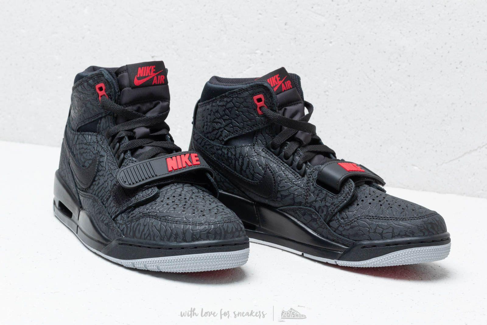 Air Jordan Legacy 312 Black/ Black-Varsity Red | Footshop