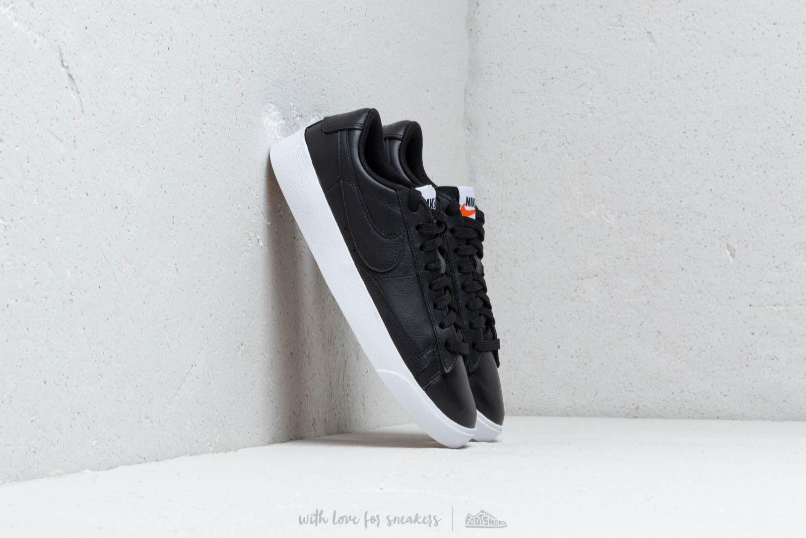 Nike W Blazer Low Le Black/ Black-White-Gum Light Brown W super cenie 388 zł kupuj na Footshop.pl