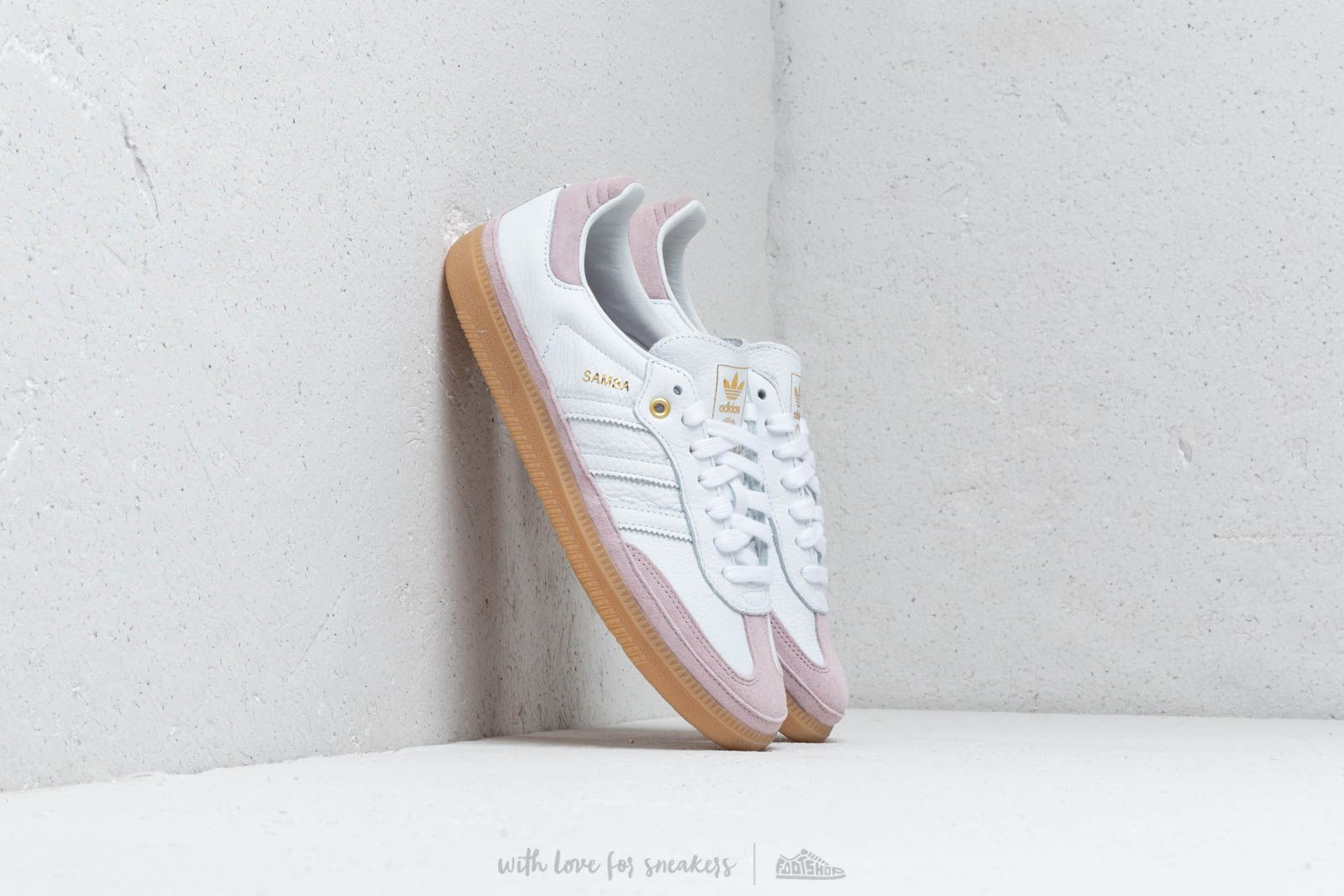 Damesschoenen adidas Samba OG W Relay Ftw White/ Ftw White/ Sofvis