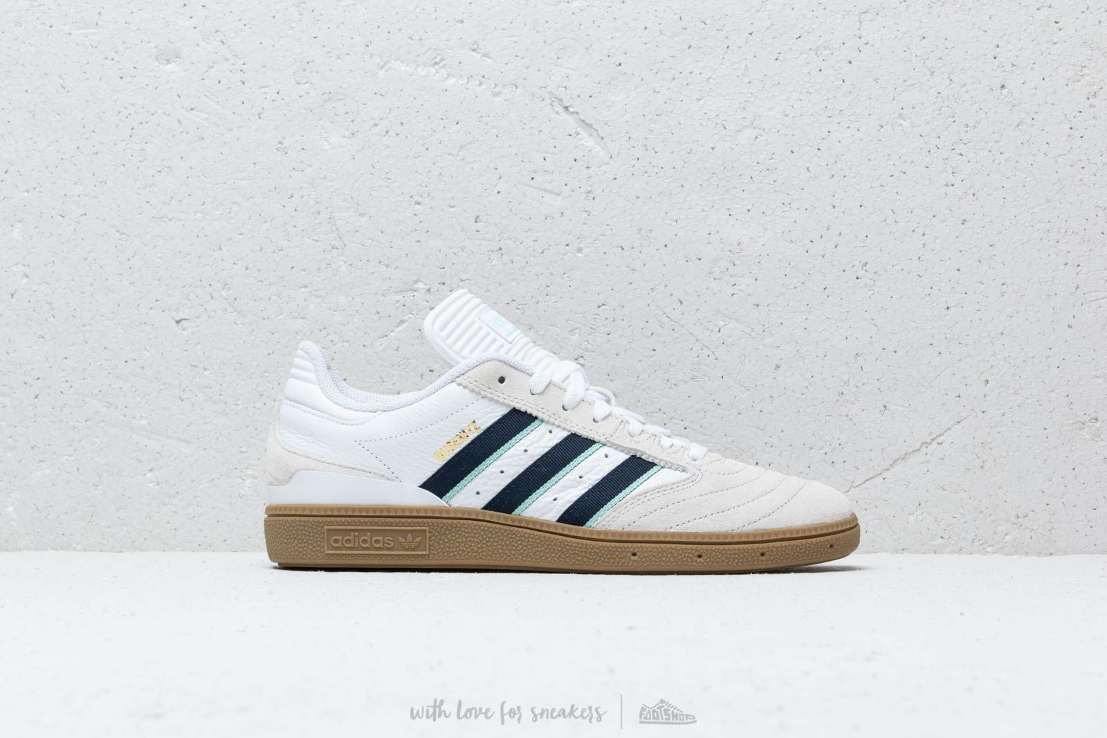 adidas Busenitz Ftw White  Cburgundy  Clemin at a great price 86 € buy at 46b7e05a1