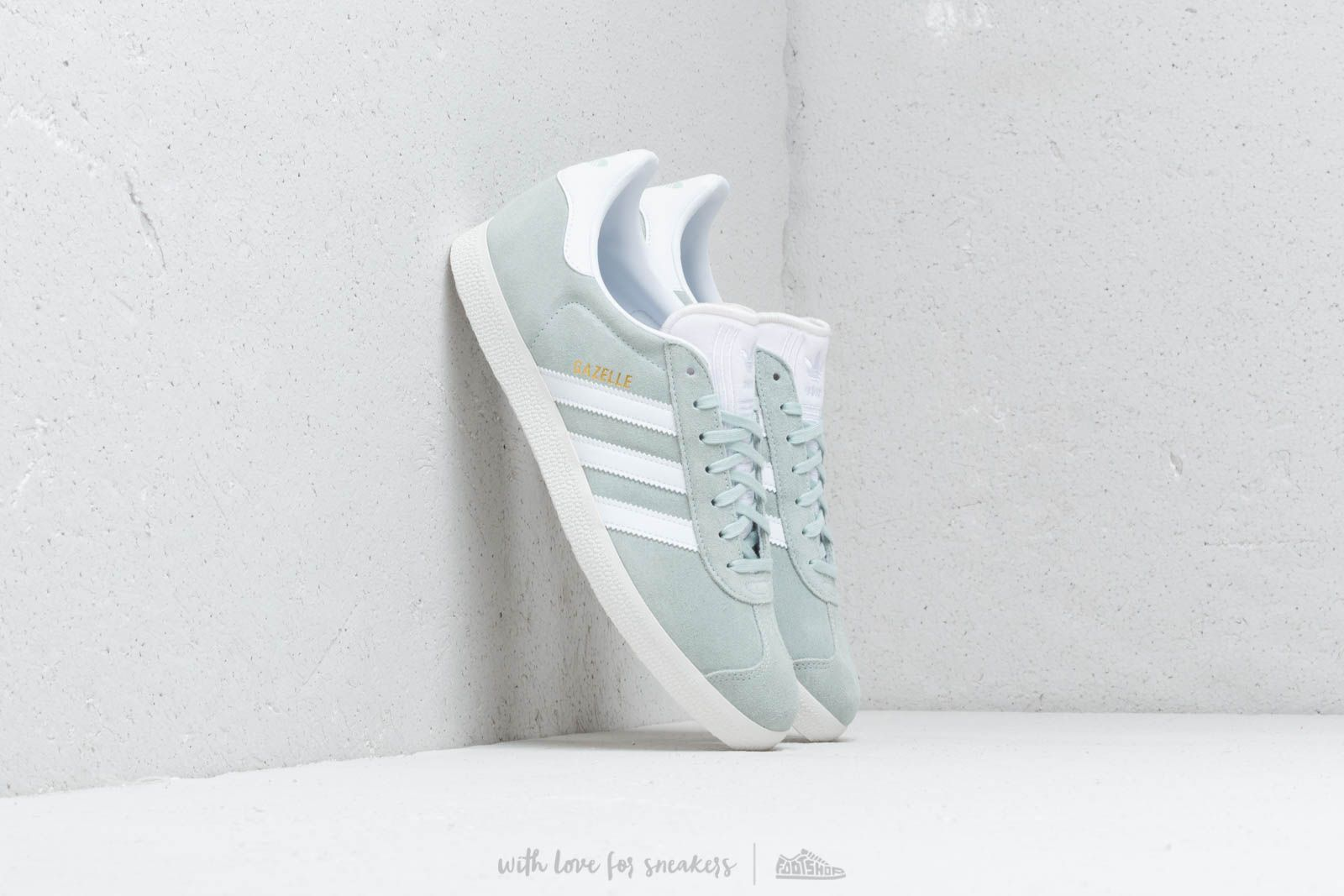 Men's shoes adidas Gazelle Vap Green/ Ftw White/ Crystal White