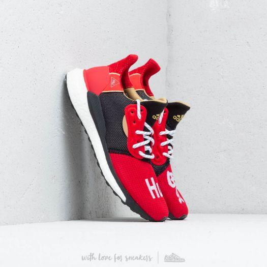 adidas Pharrell Williams Solar HU Glide Mens Shoes Black