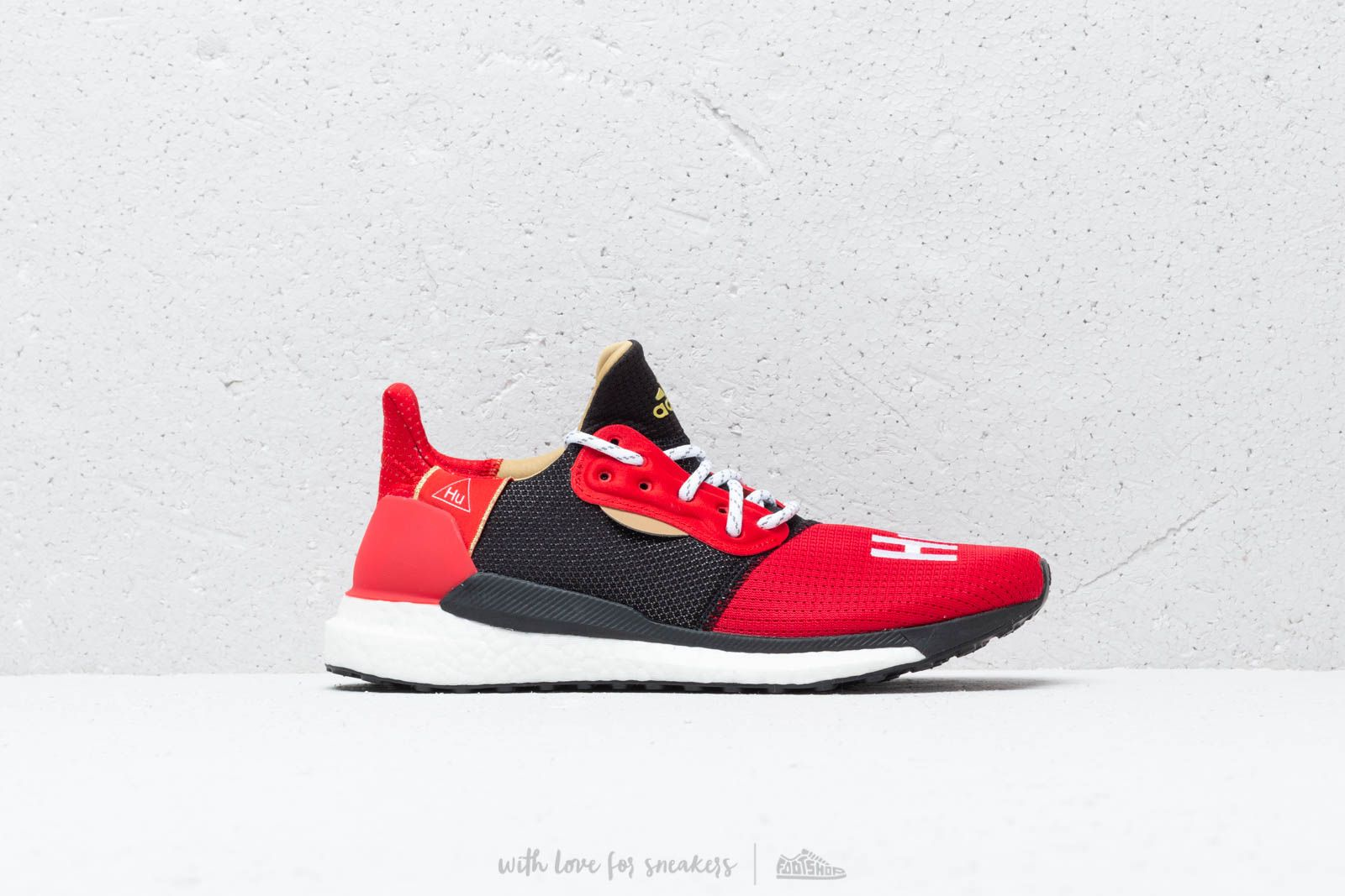 10148fa67ac26 adidas x Pharrell Williams Solar HU Glide CNY Red  Core Black at a great  price