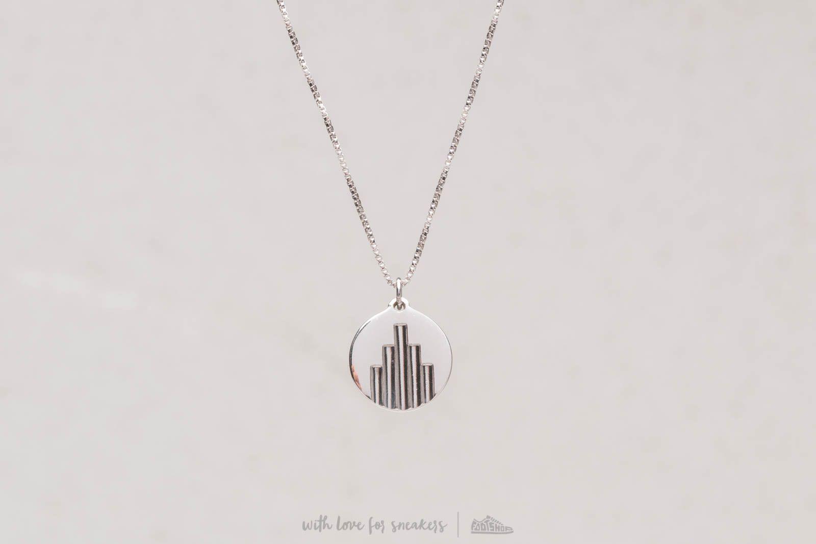 Necklace Miansai Deco Pedant Neklace Silver